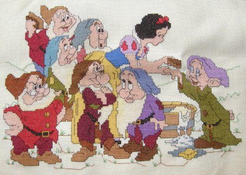 The Cross-Stitch Patterns that I Look Forward to Stitching in 2019