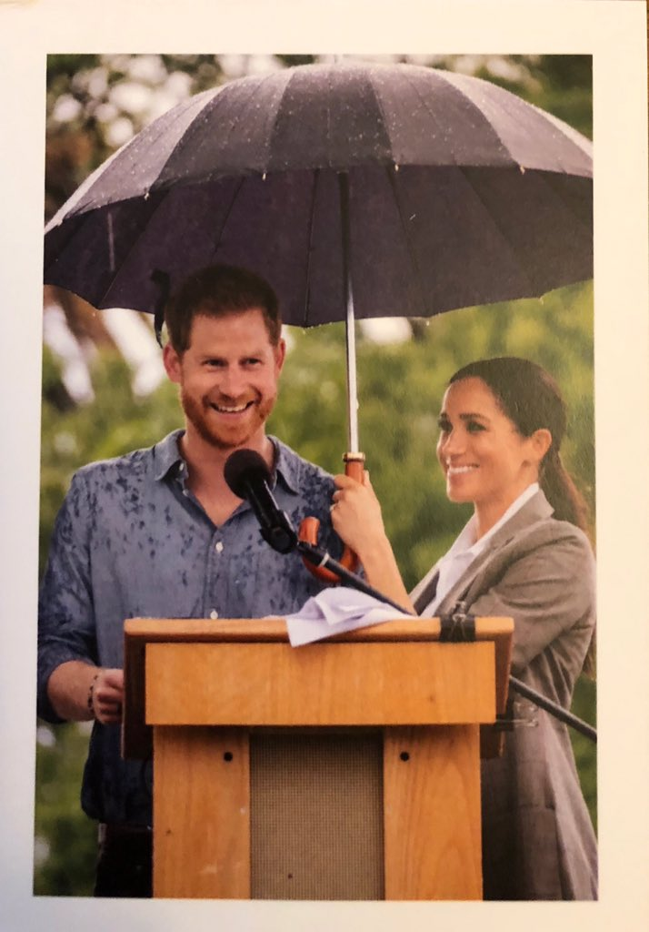 Royal Mail: Christmas 2019 – Duke and Duchess of Sussex