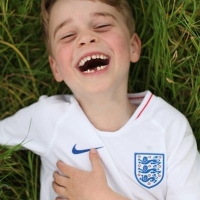 Prince George Turns 6 and shows support for England, The Duchess of Cambridge Releases Photos