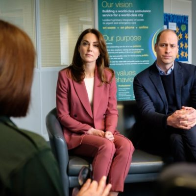 The Duke and Duchess of Cambridge Make Unannounced Visit to 111 Call Centre